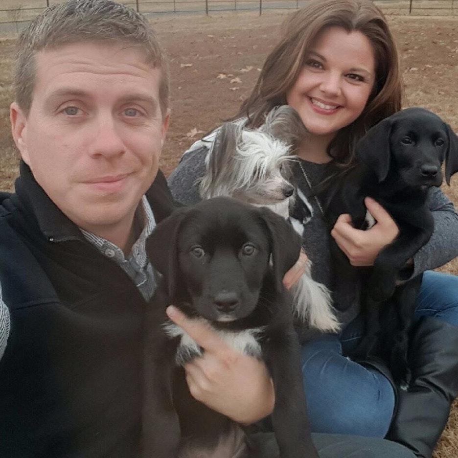 dog walker Elizabeth & Jan-Michael