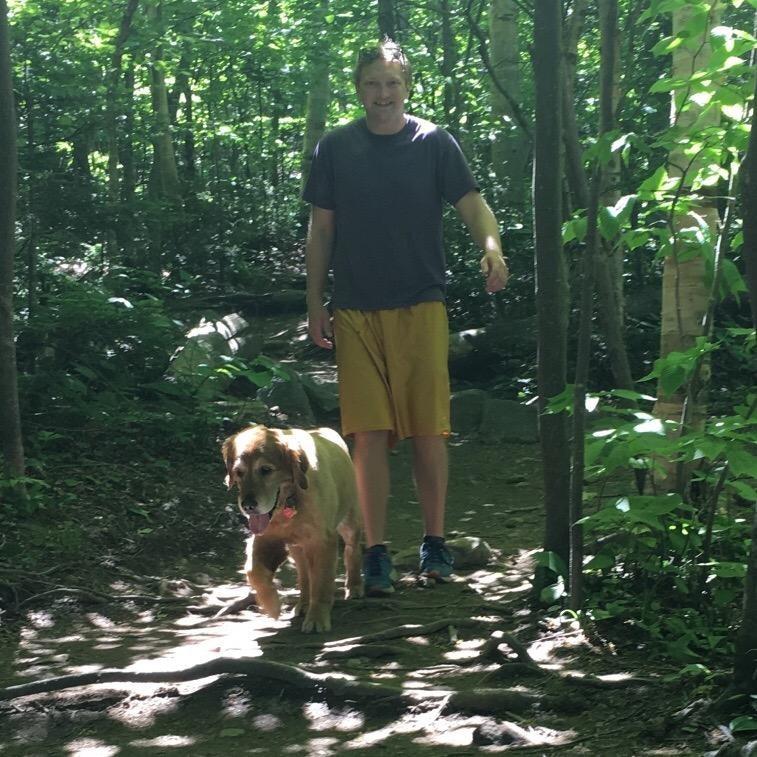 dog walker Jon