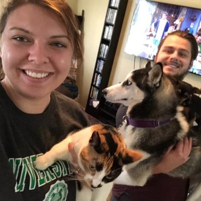 Brittany & Kyle's dog boarding