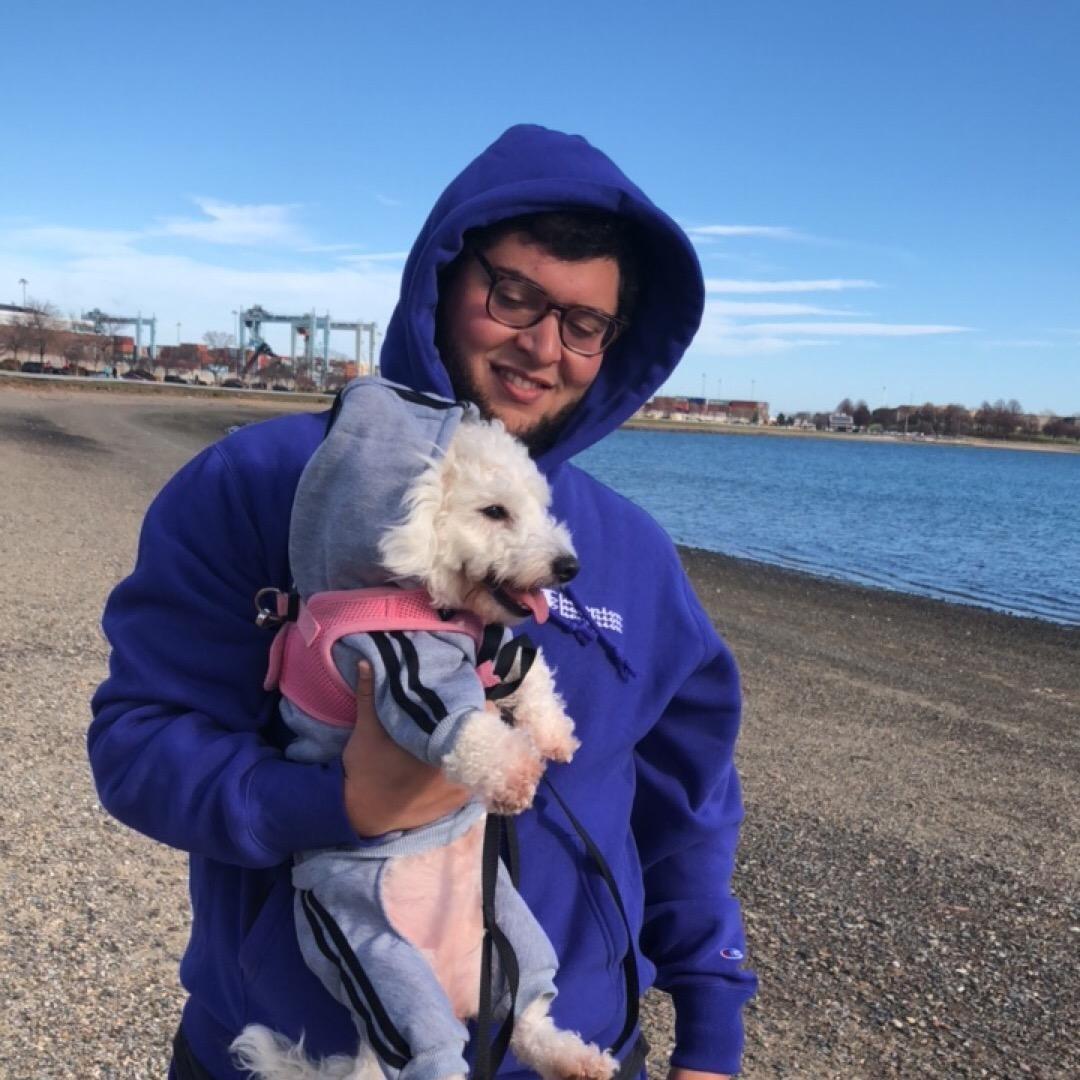 dog walker Marc