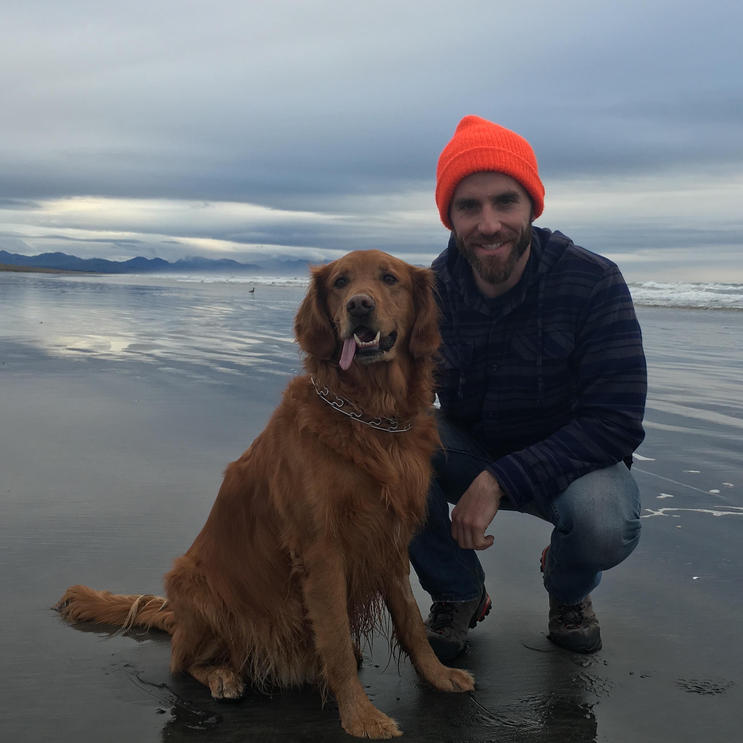 dog walker Tim