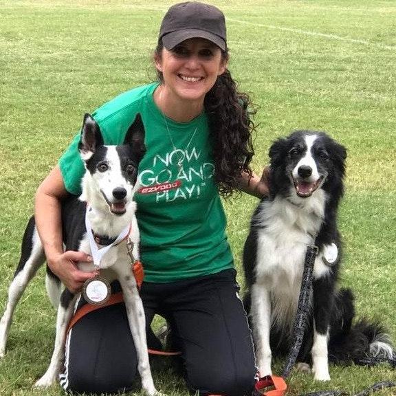 dog walker Michele