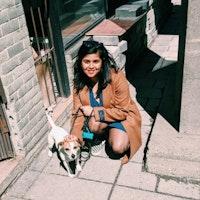 Senjuti's dog boarding