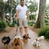 dog walker Cesar & Romy