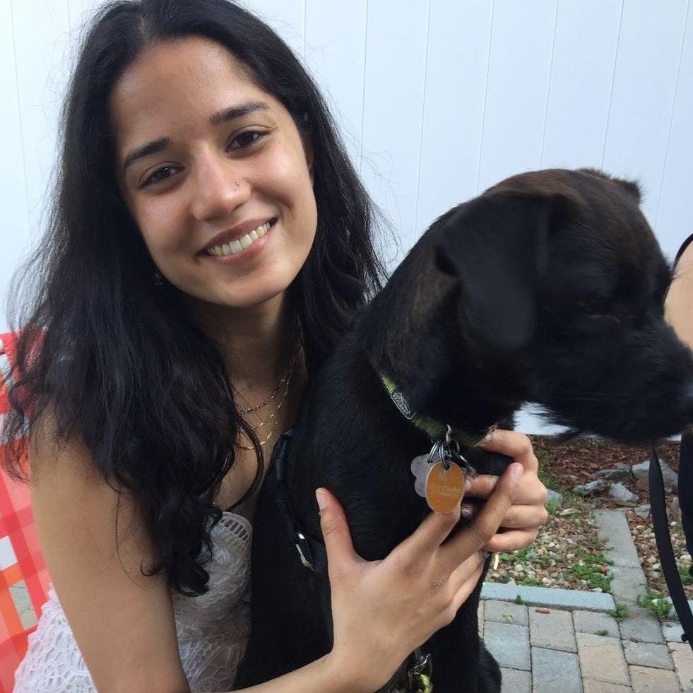 dog walker Gayatri