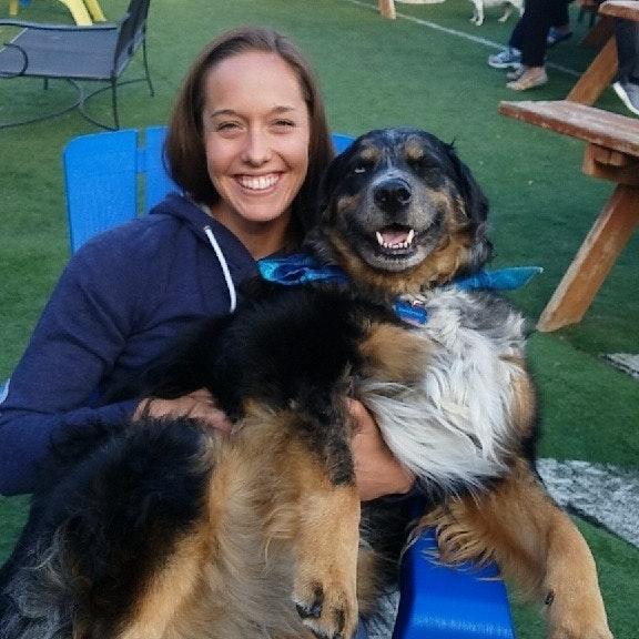 dog walker Catie