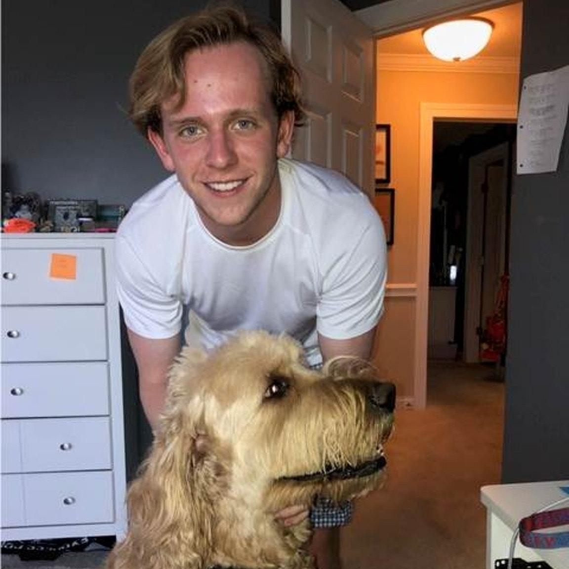 dog walker Gavin