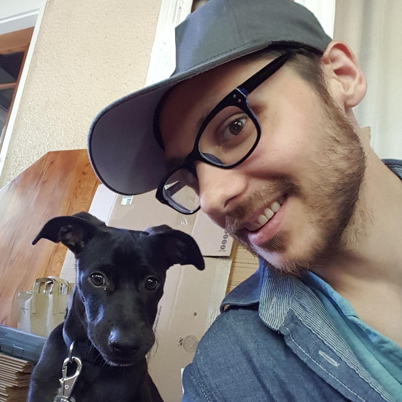 Anthony's dog boarding
