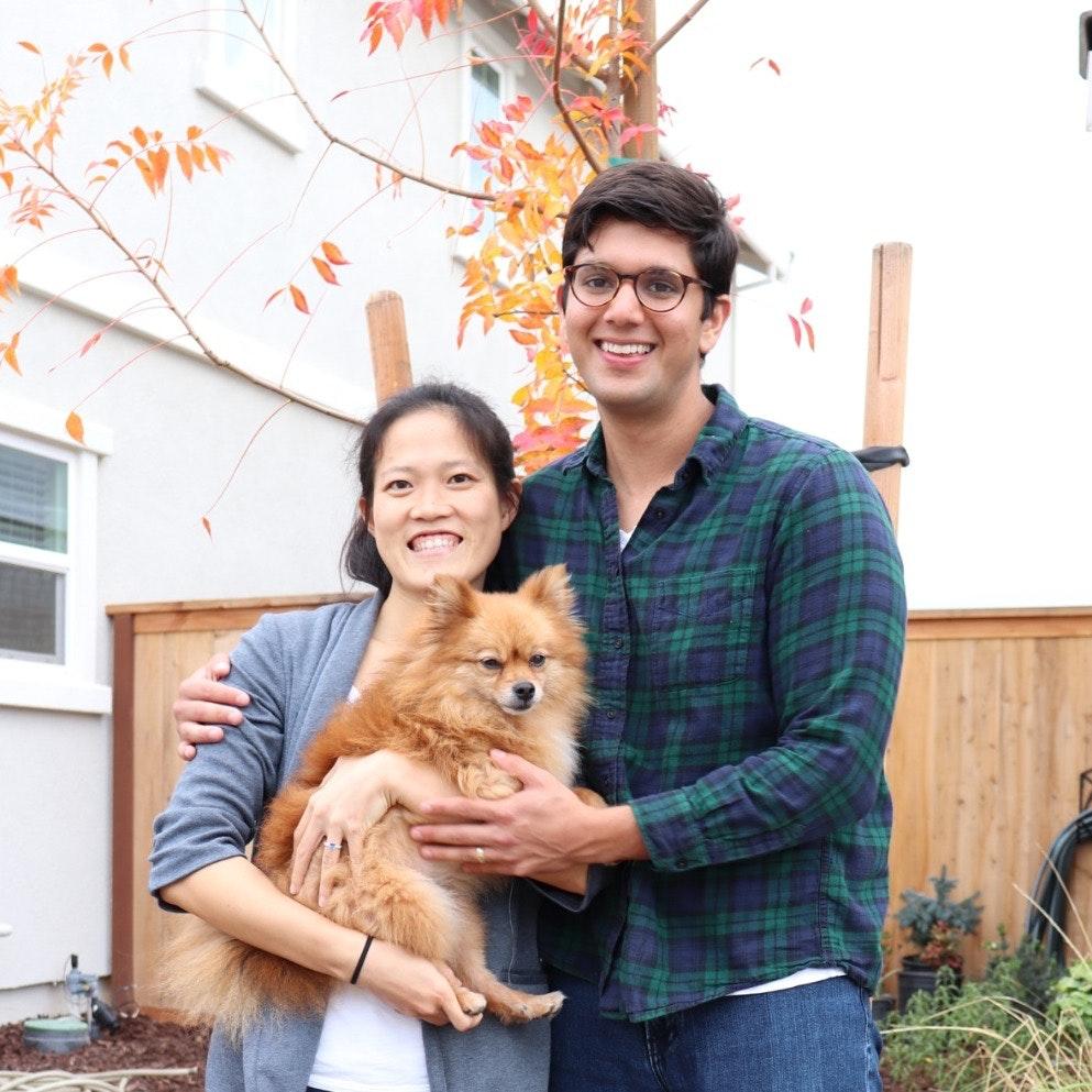 Yanping & Amit's dog boarding