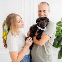 Amy & Gabriel's dog boarding