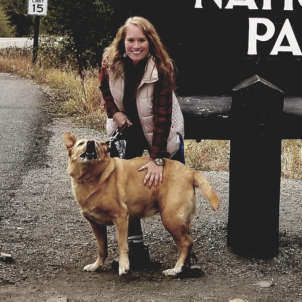 Christina's dog boarding