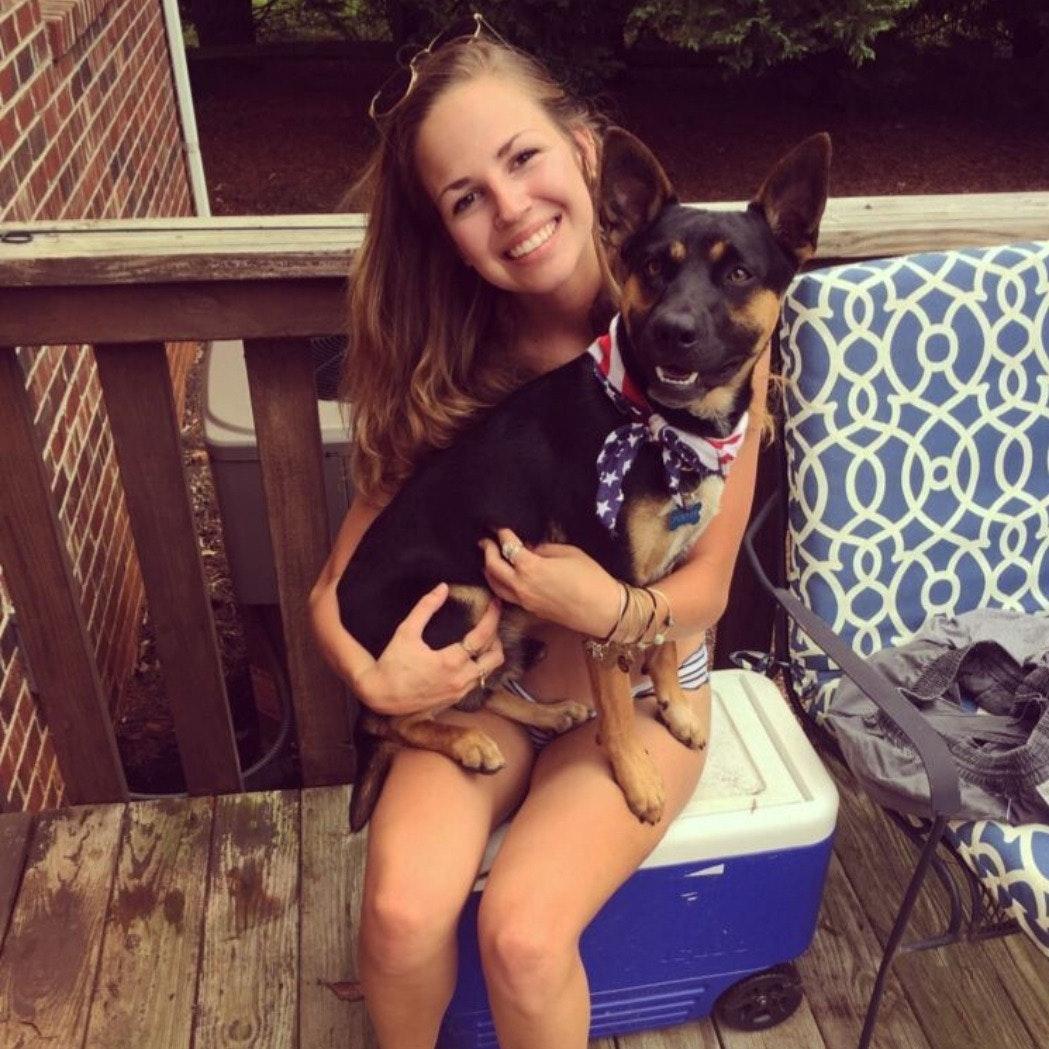 pet sitter Kaleigh