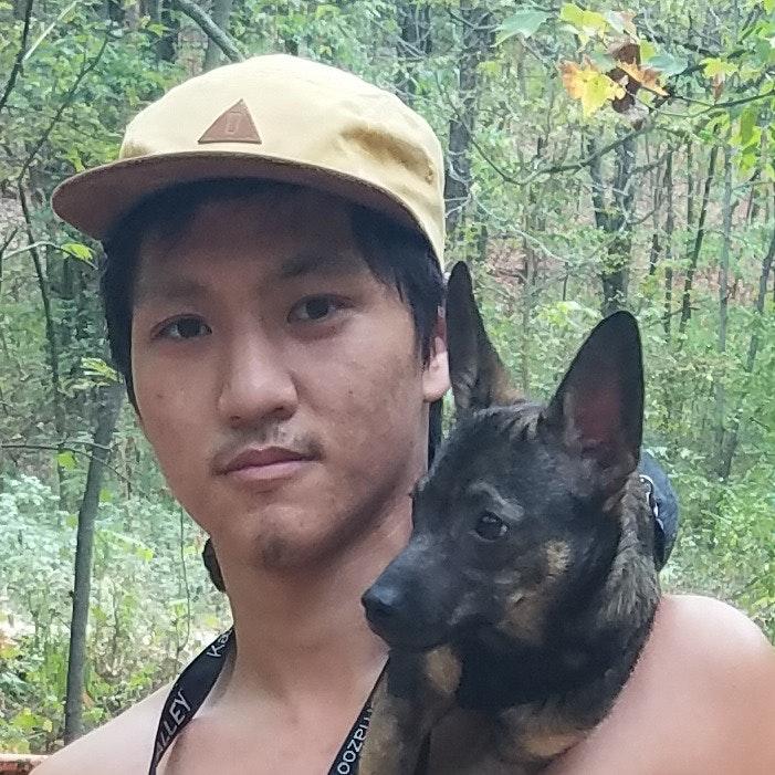dog walker Darrick