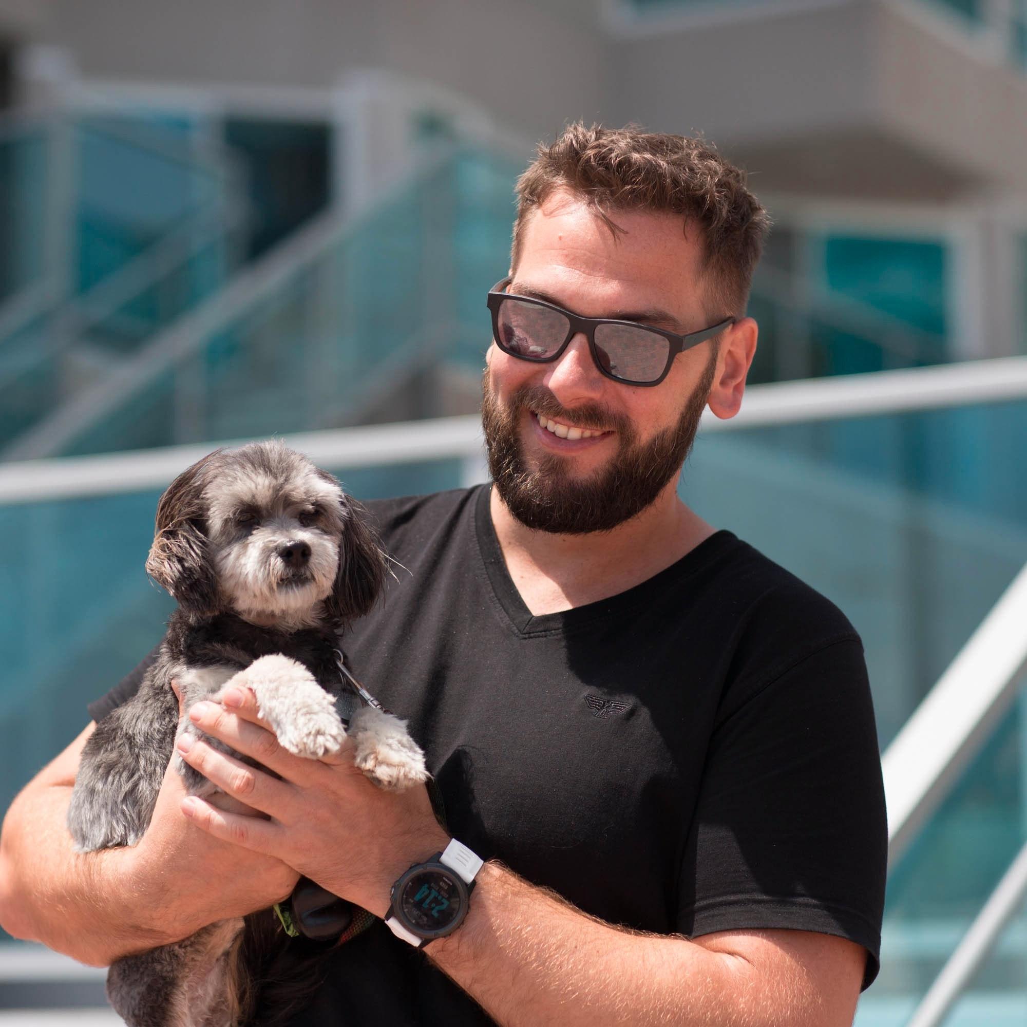 James's dog boarding