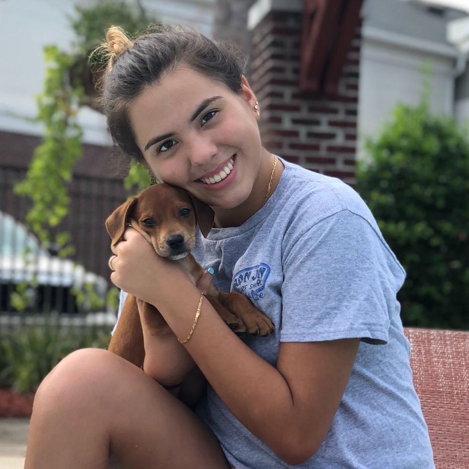 dog walker Stefania