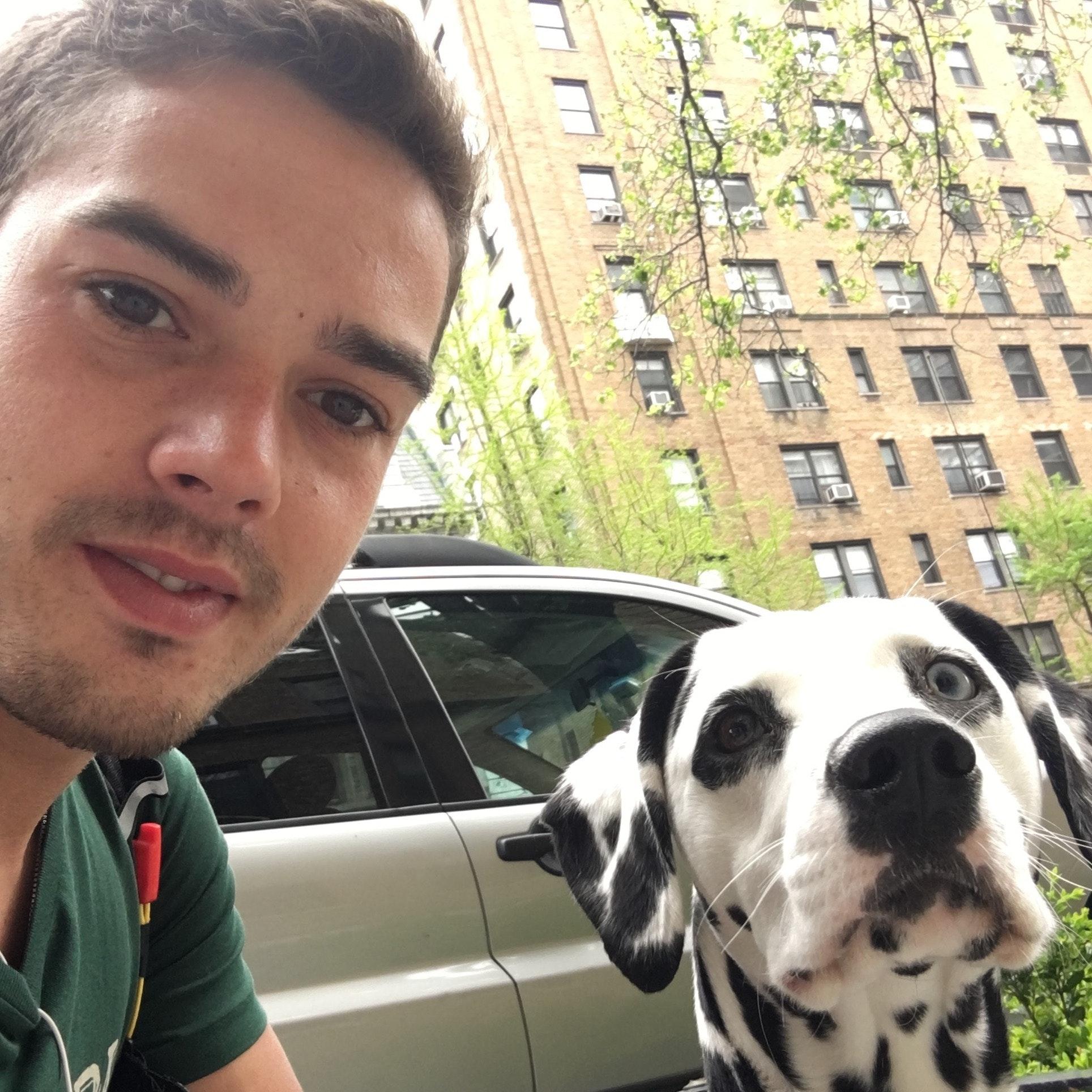 dog walker Danilo