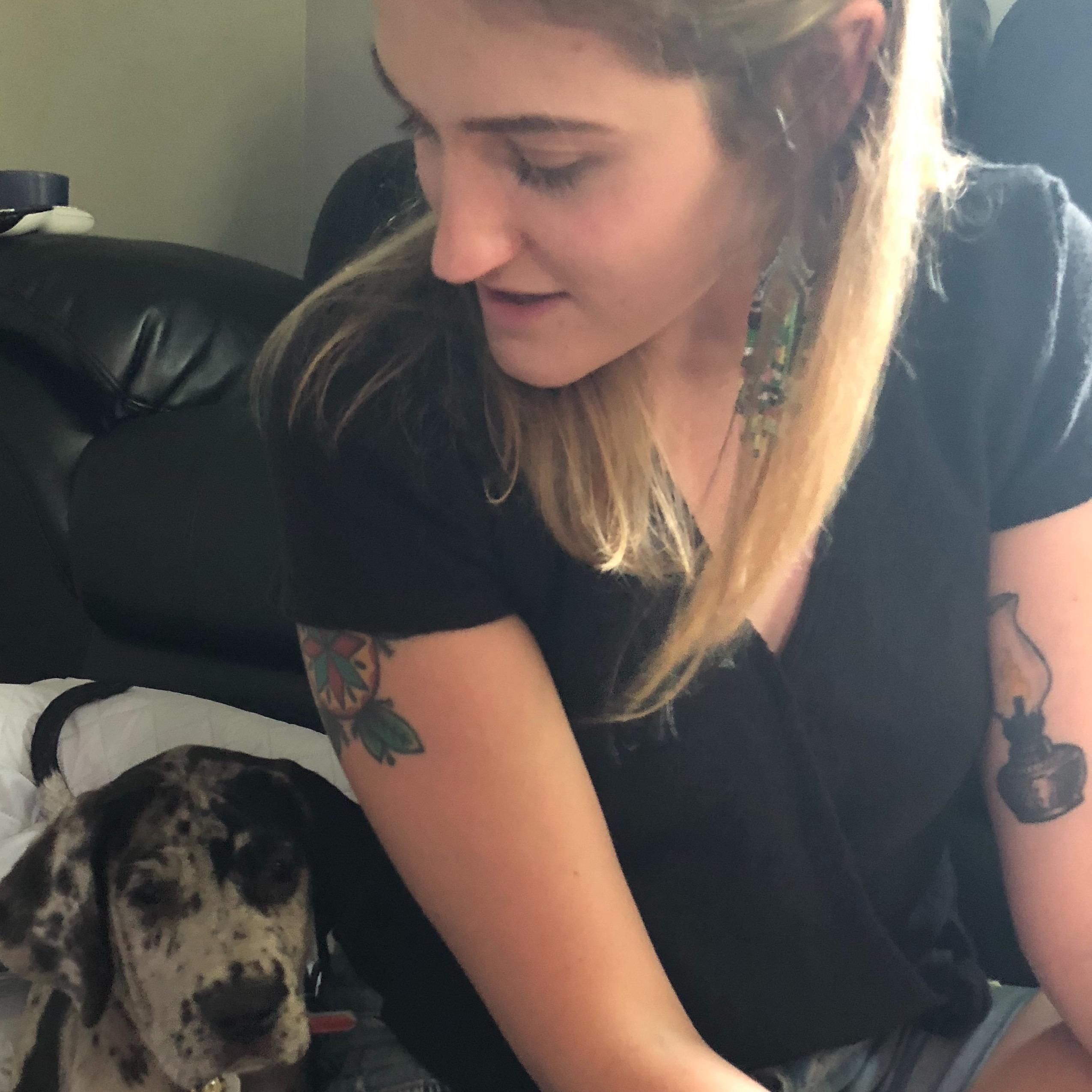 pet sitter Amber