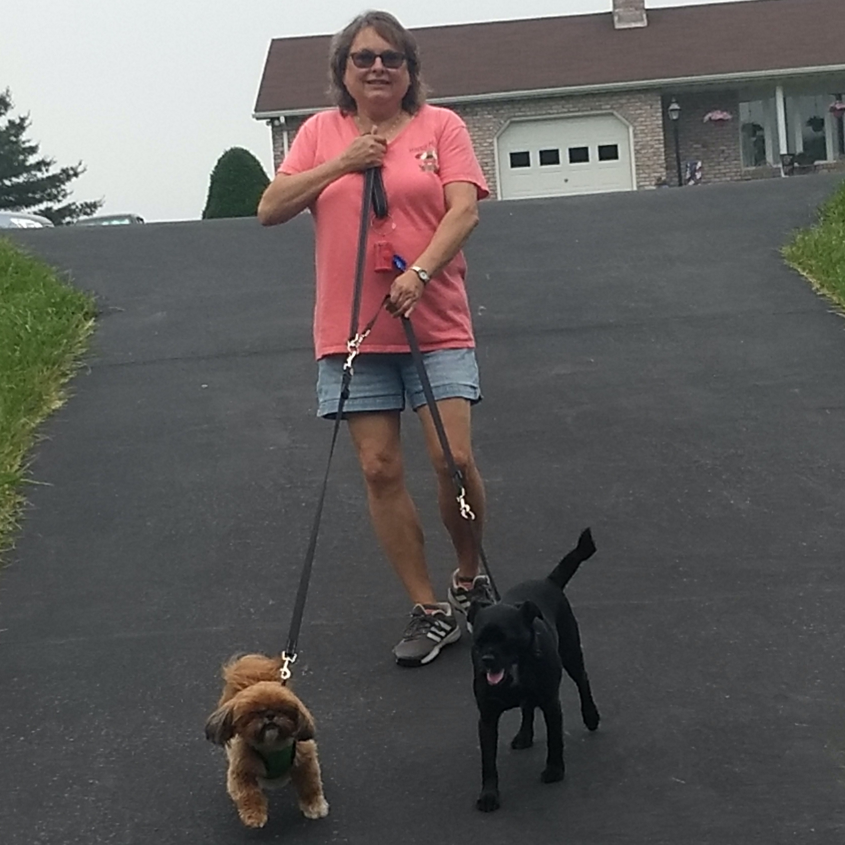 dog walker Judy