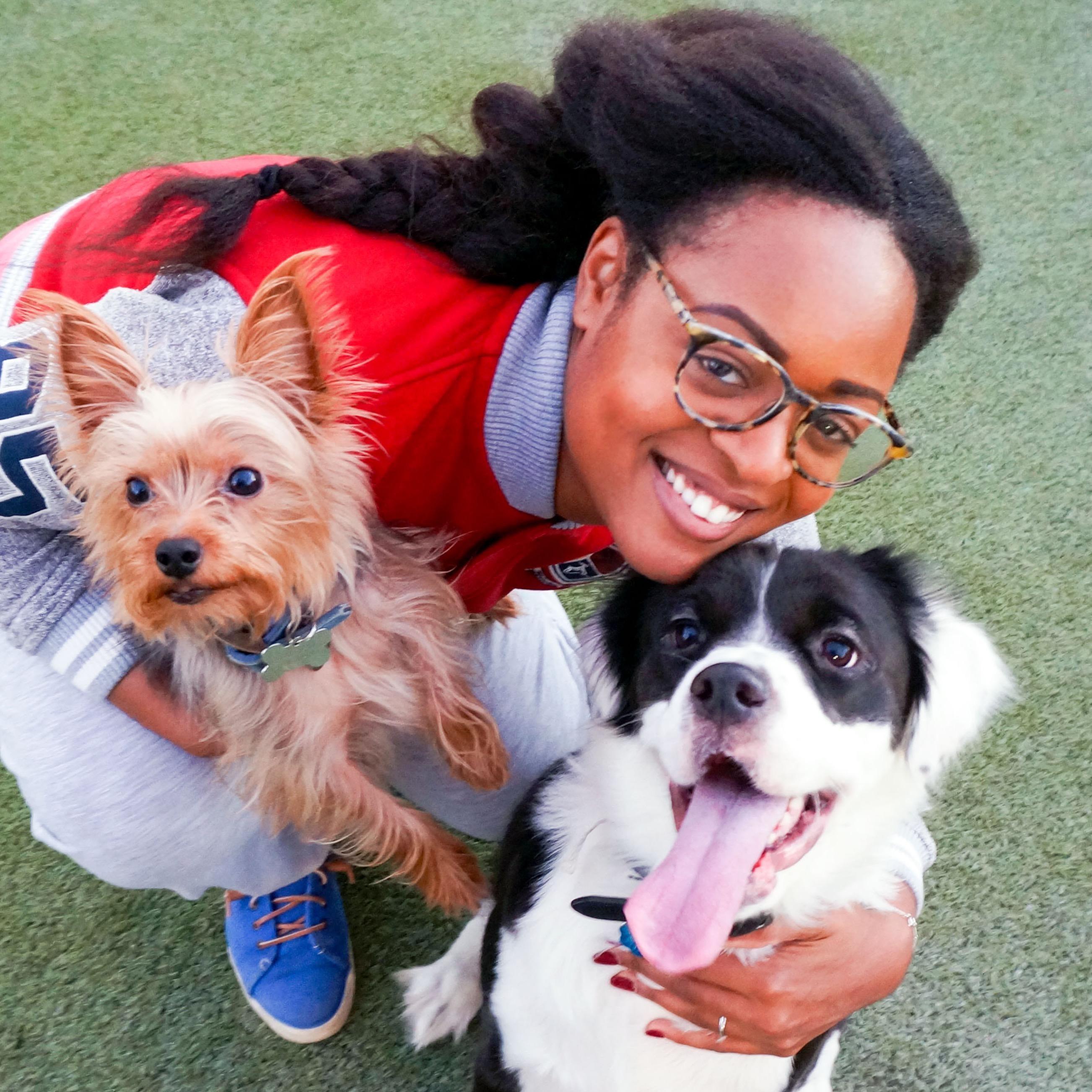 dog walker Latoya & Jaqwan