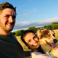 Kendra & Zach's dog boarding