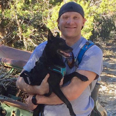 dog walker Jared