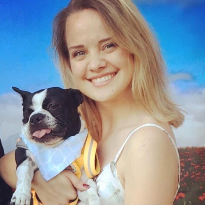 dog walker Anna-Shea