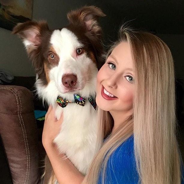 dog walker Gwen & Chad