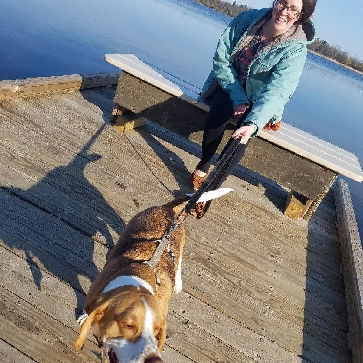 dog walker Molly