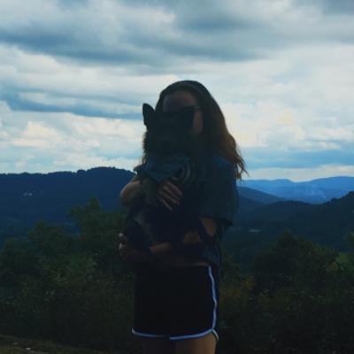 dog walker Josie