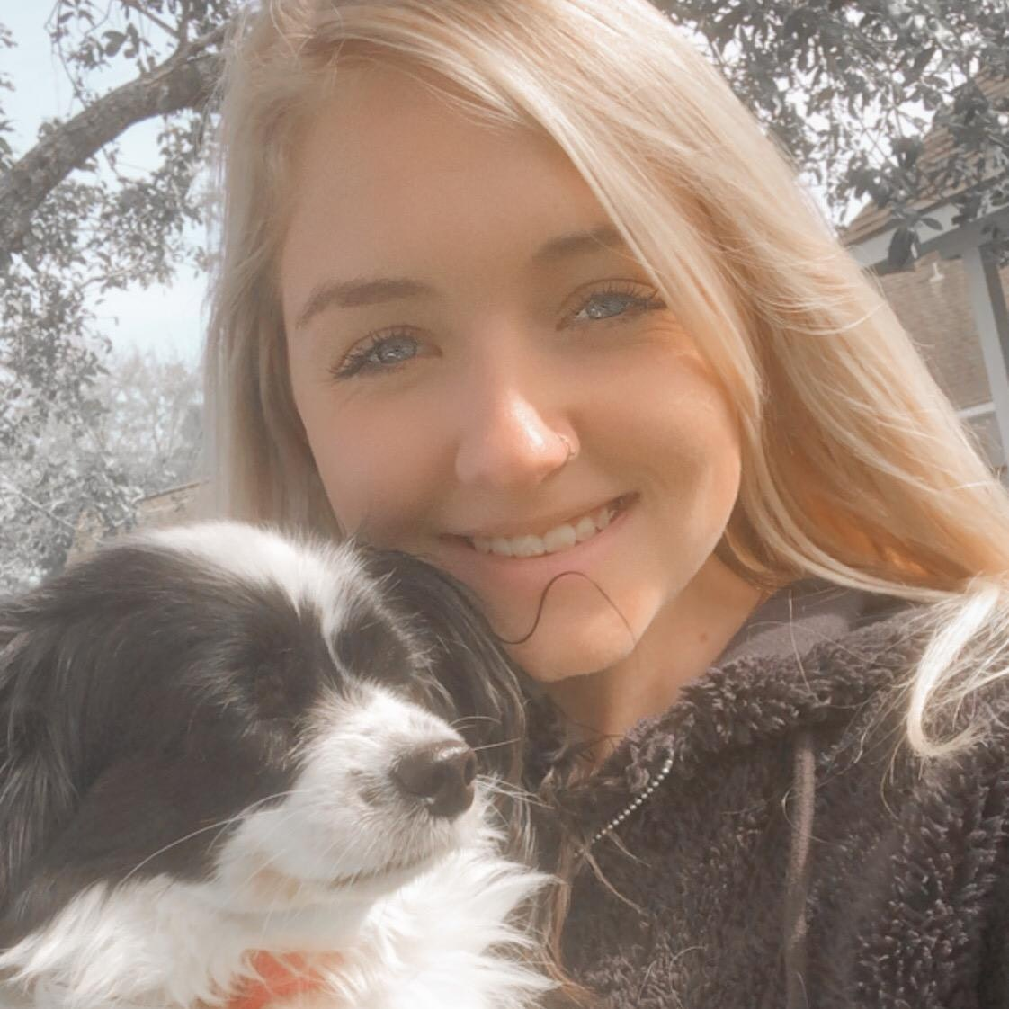 dog walker Abbie
