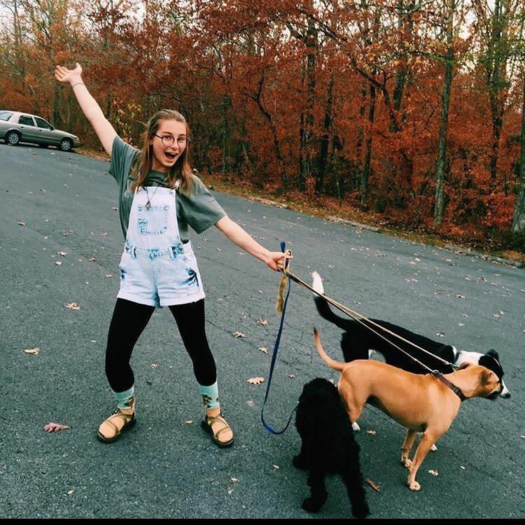 dog walker Jacie
