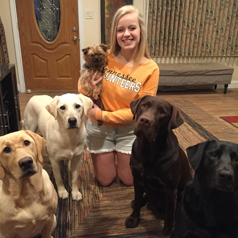 pet sitter Maddie
