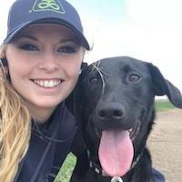 dog walker Christina