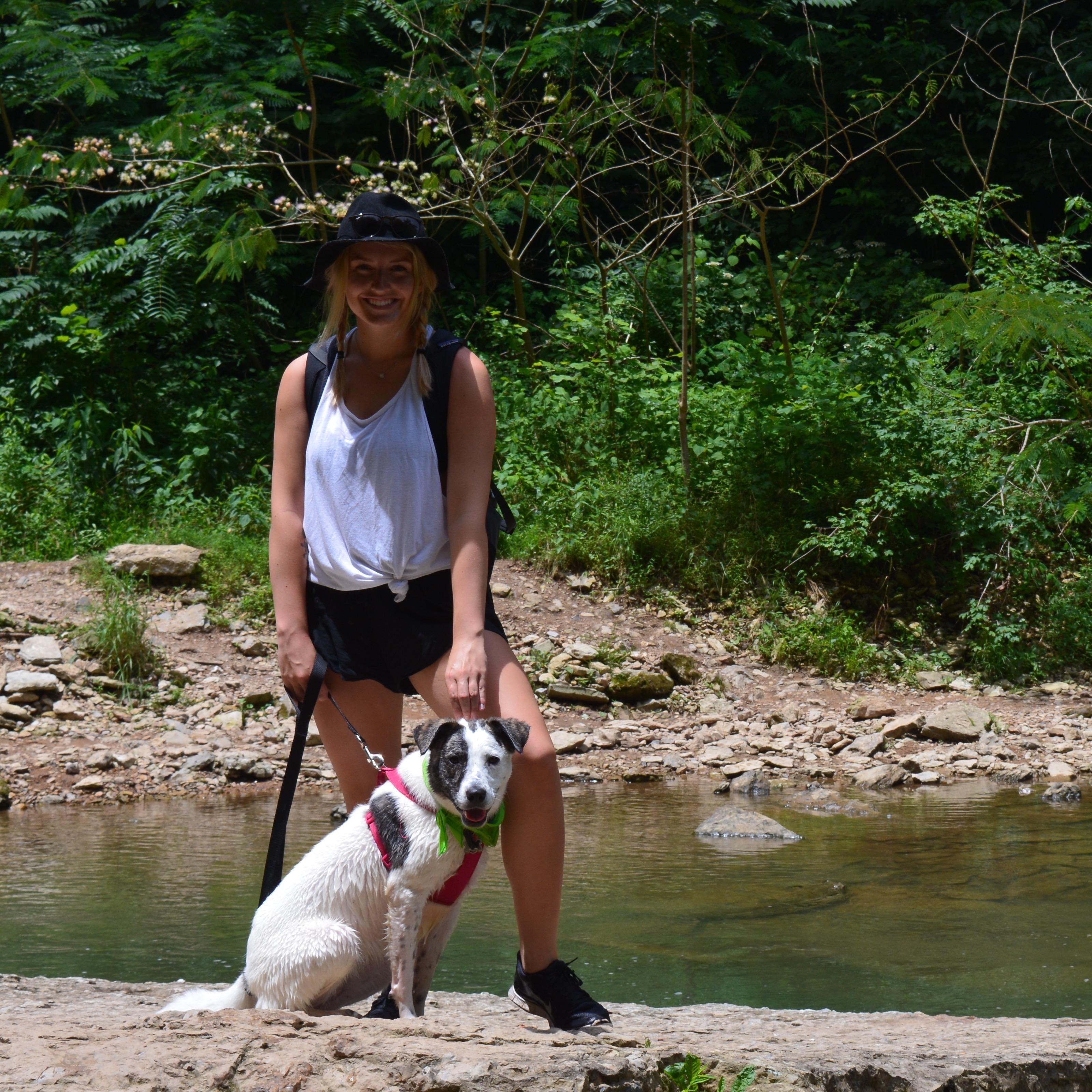dog walker Bailey