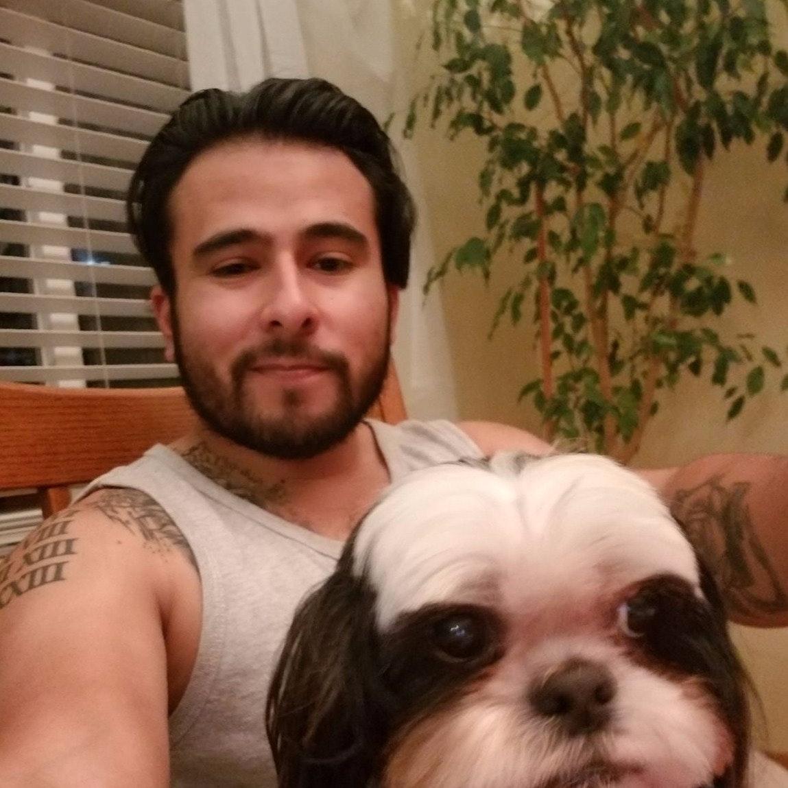 dog walker Vince