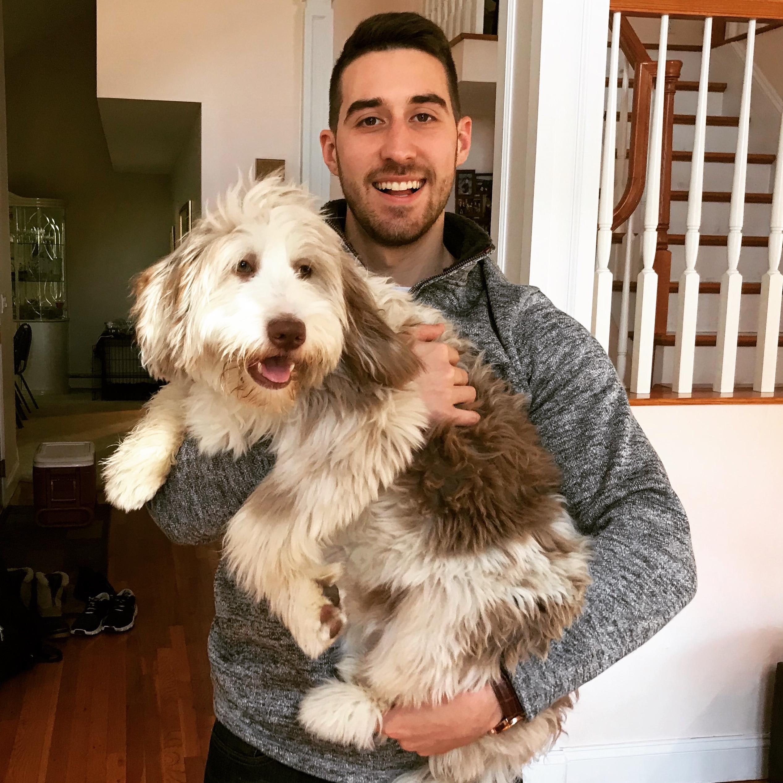 dog walker Luke