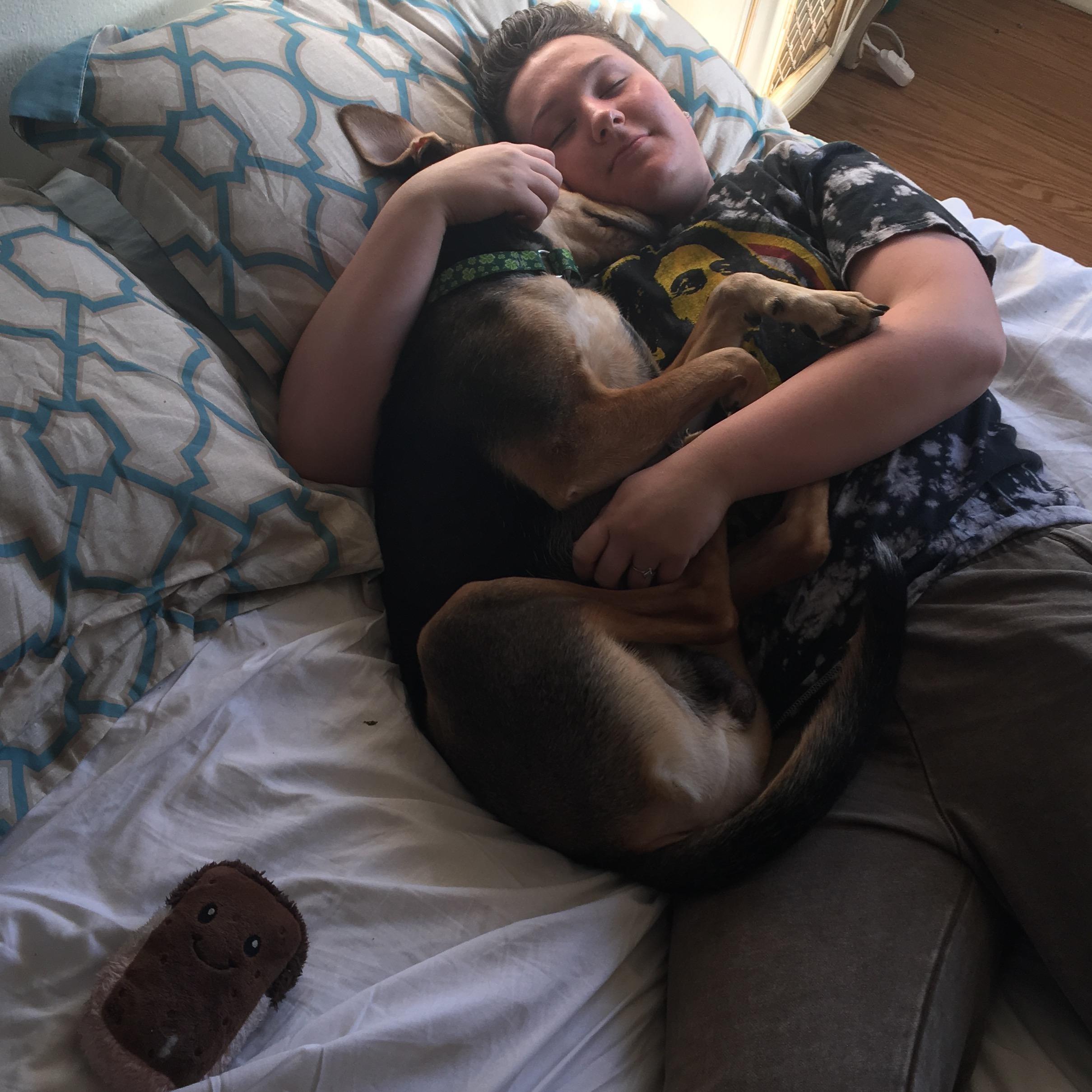 dog walker Kayli
