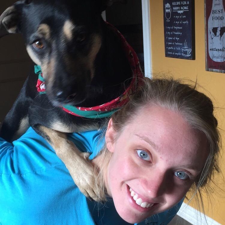dog walker Vanessa