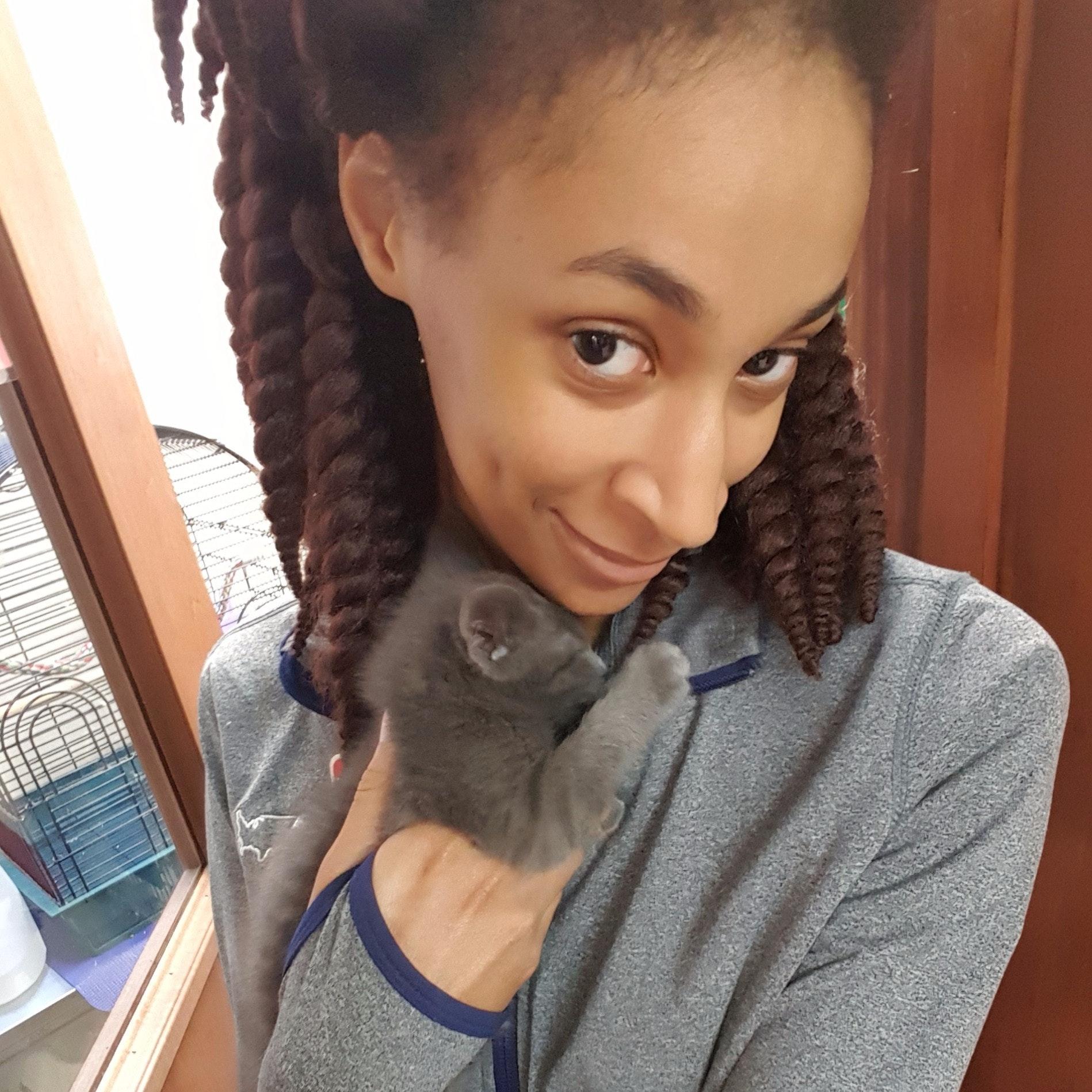 house sitter Jasmine