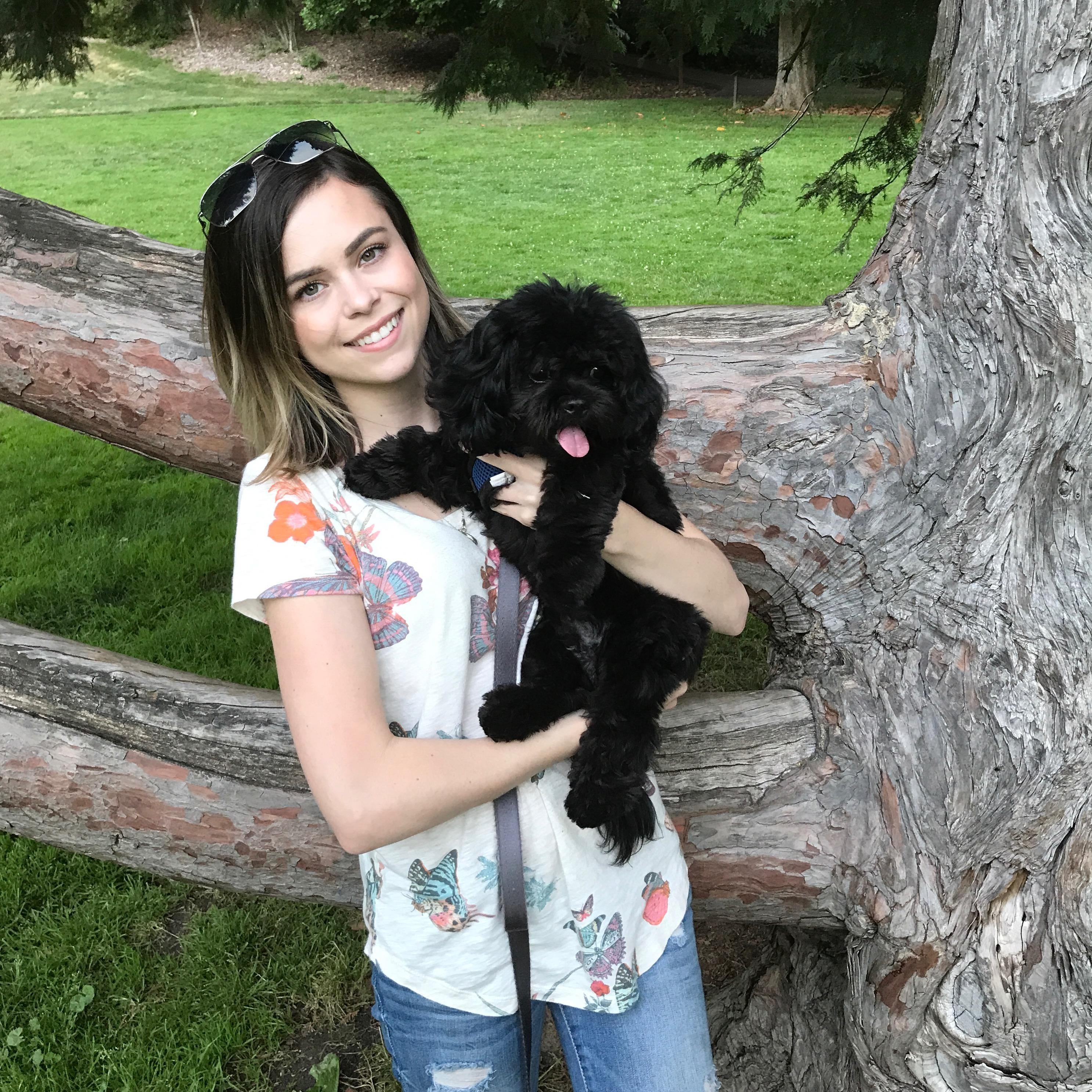 dog walker Tabitha
