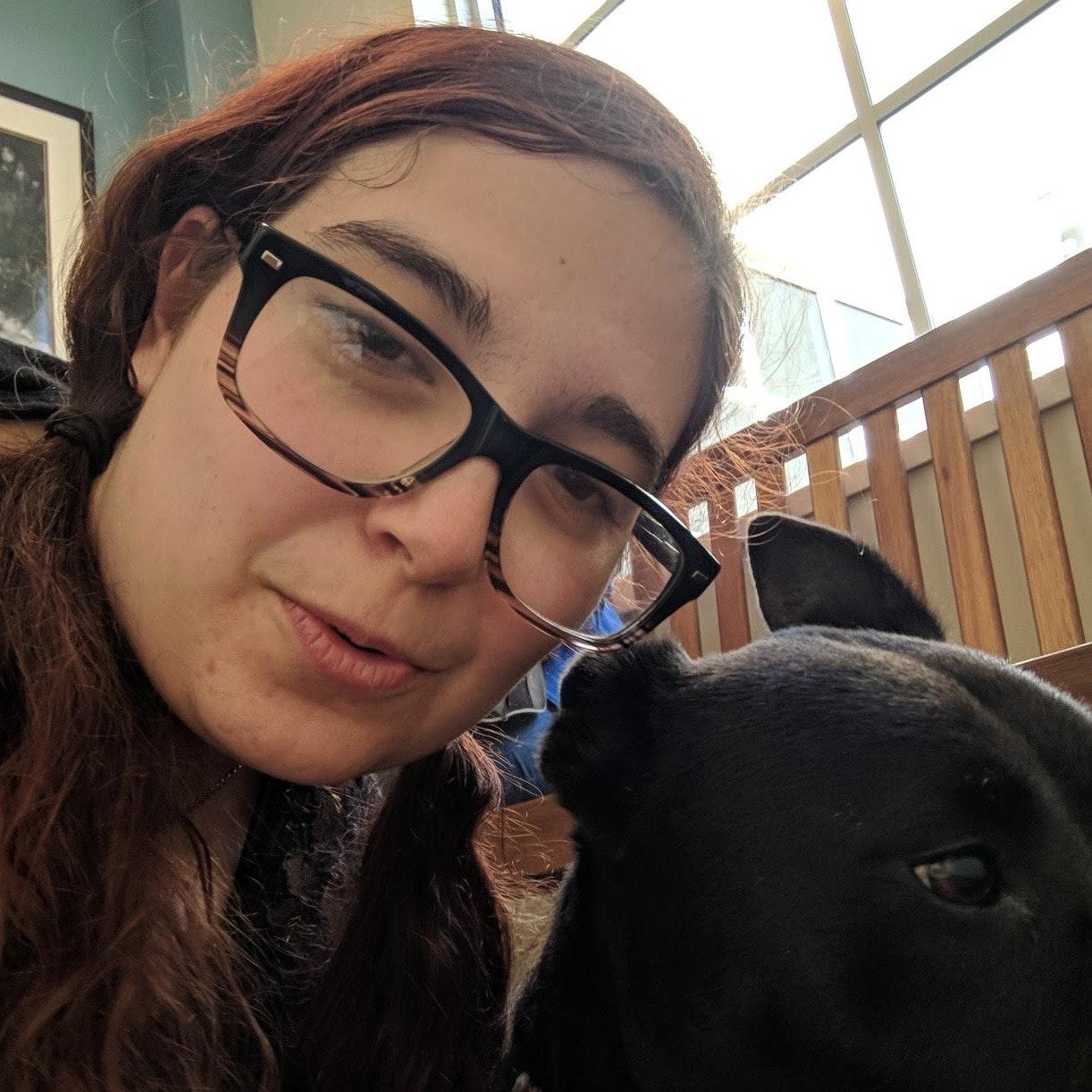 dog walker Rebecca