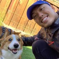 dog walker Bao