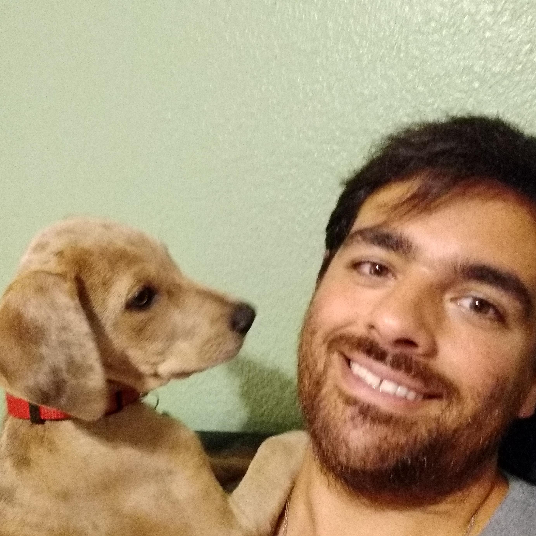 dog walker Federico