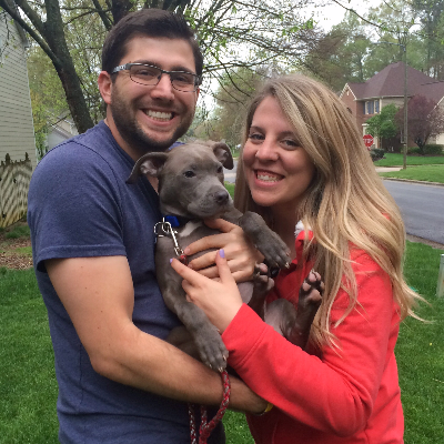 Chelsea & Mathieu's dog boarding