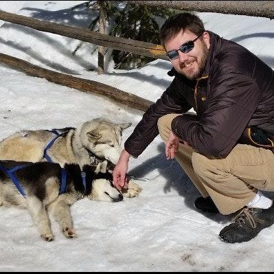 dog walker James
