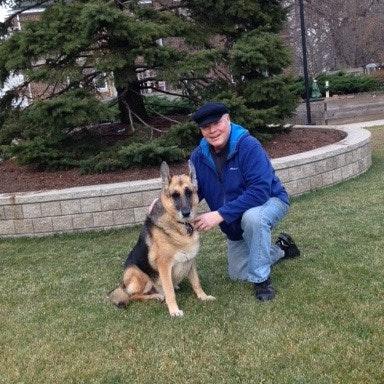 dog walker Tony