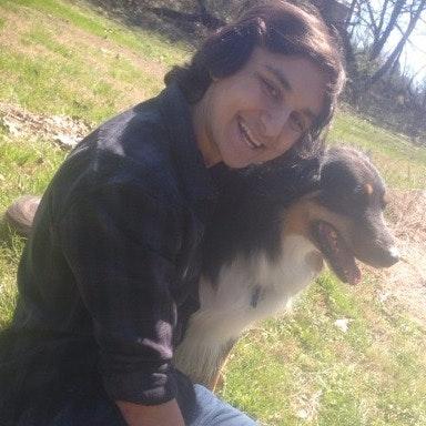 dog walker Justin
