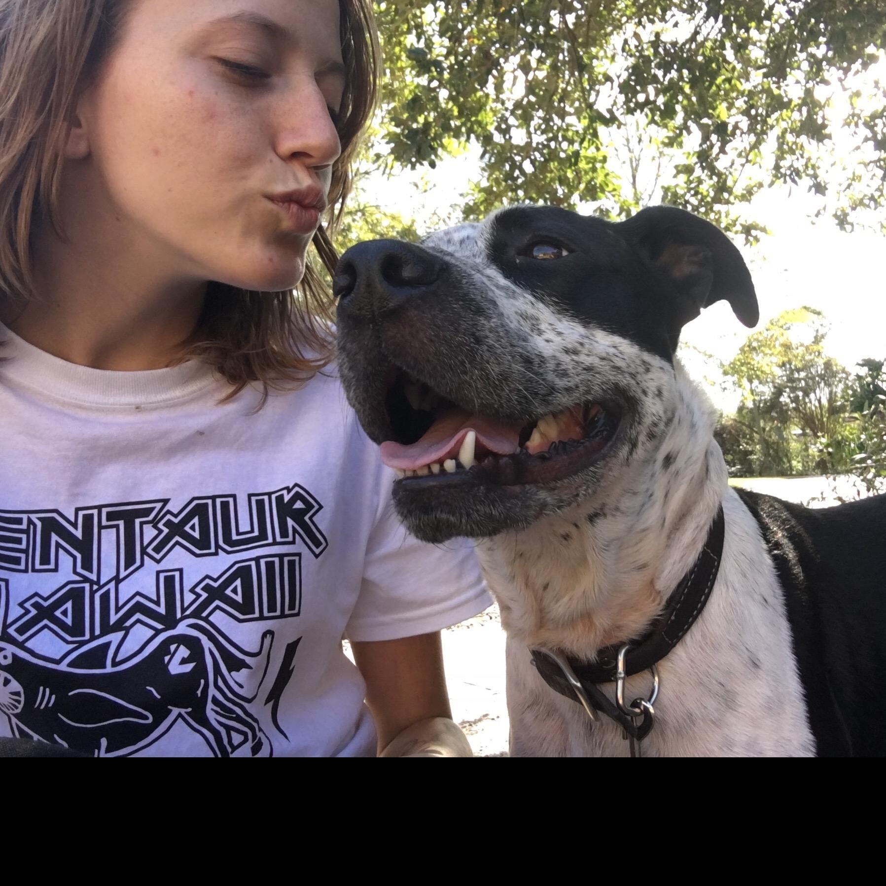 dog walker Addie-Belle