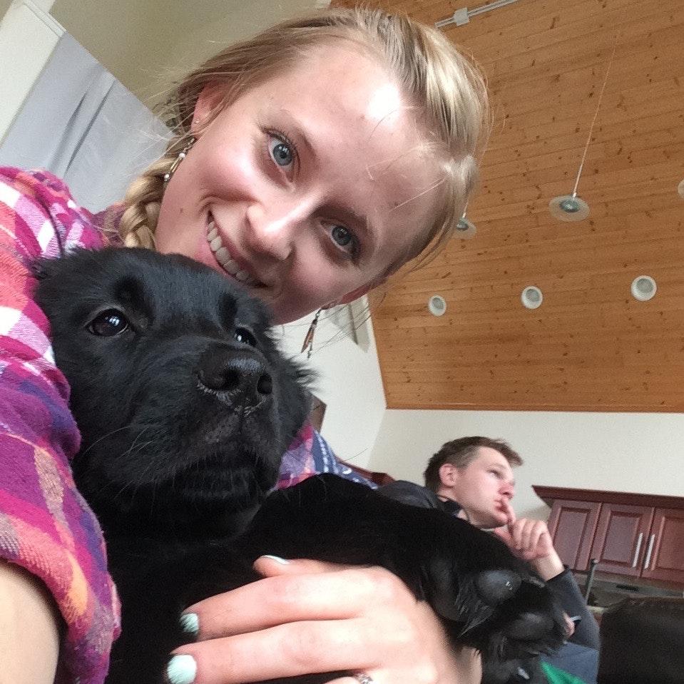 pet sitter Bridget
