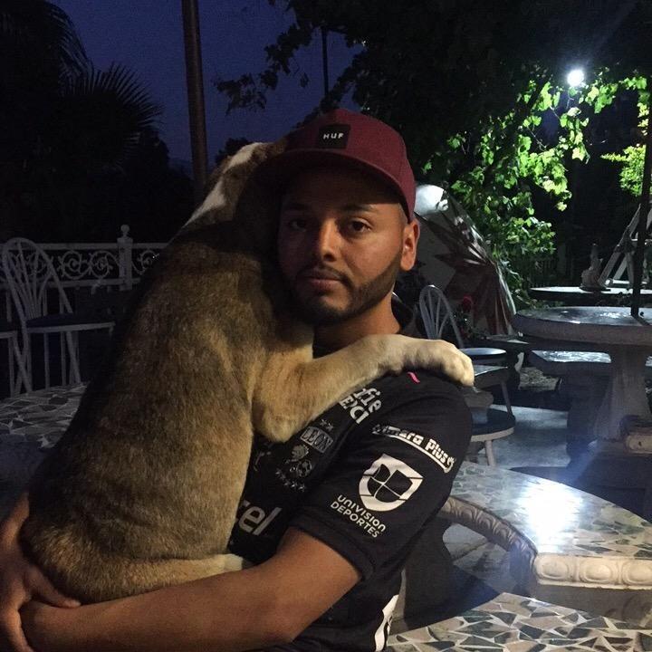 dog walker Daniel